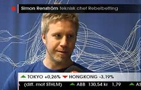 Simon Renstrom CEO RebelBetting
